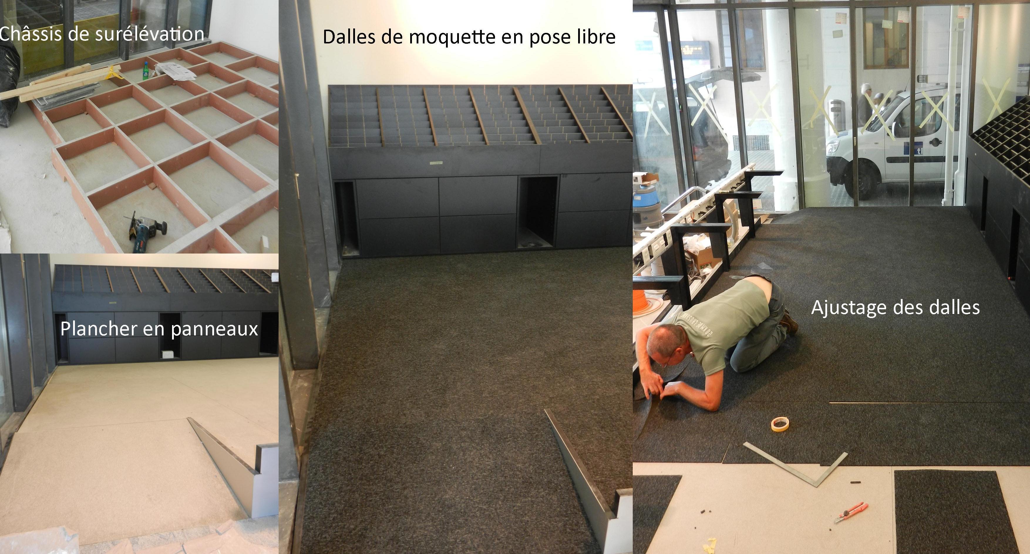 Cr a sol s rl r f dalles de moquette for Moquette de bureau